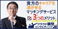 【クラウド顧問コンサルティング】貴方の経験を若き経営者へ!