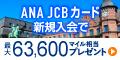 ANA JCBカード(ソラチカカードも対象)