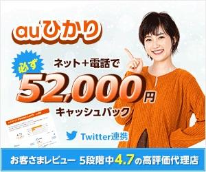 auひかり(NNコミュニケーションズ)