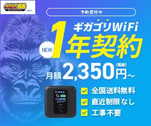 月額2,350円からのWiFiが新登場♪