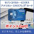 セゾンコバルト・ビジネス・アメリカン・エキスプレス・カード【カード利用でポイント対象】