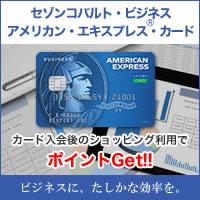 セゾンコバルト・ビジネス・アメリカン・エキスプレス・カード(利用:30万)