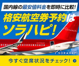 ソラハピ国内航空券予約